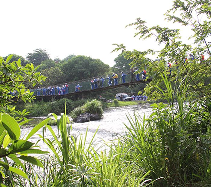 4to. Campamento en selva.