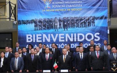 ceremonia a la 36/a. antigüedad de la Maestría en Seguridad Nacional del Colegio de Defensa Nacional.