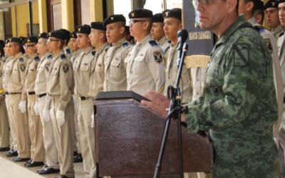 Ceremonia de despedida del General Brigadier Diplomado de Estado Mayor, Cuauhtémoc Francisco Arellano Ávila.