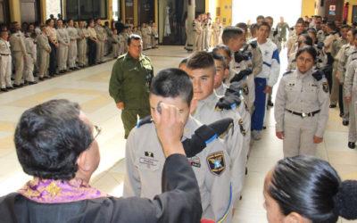 Miércoles de ceniza en la Academia Militarizada Ignacio Zaragoza